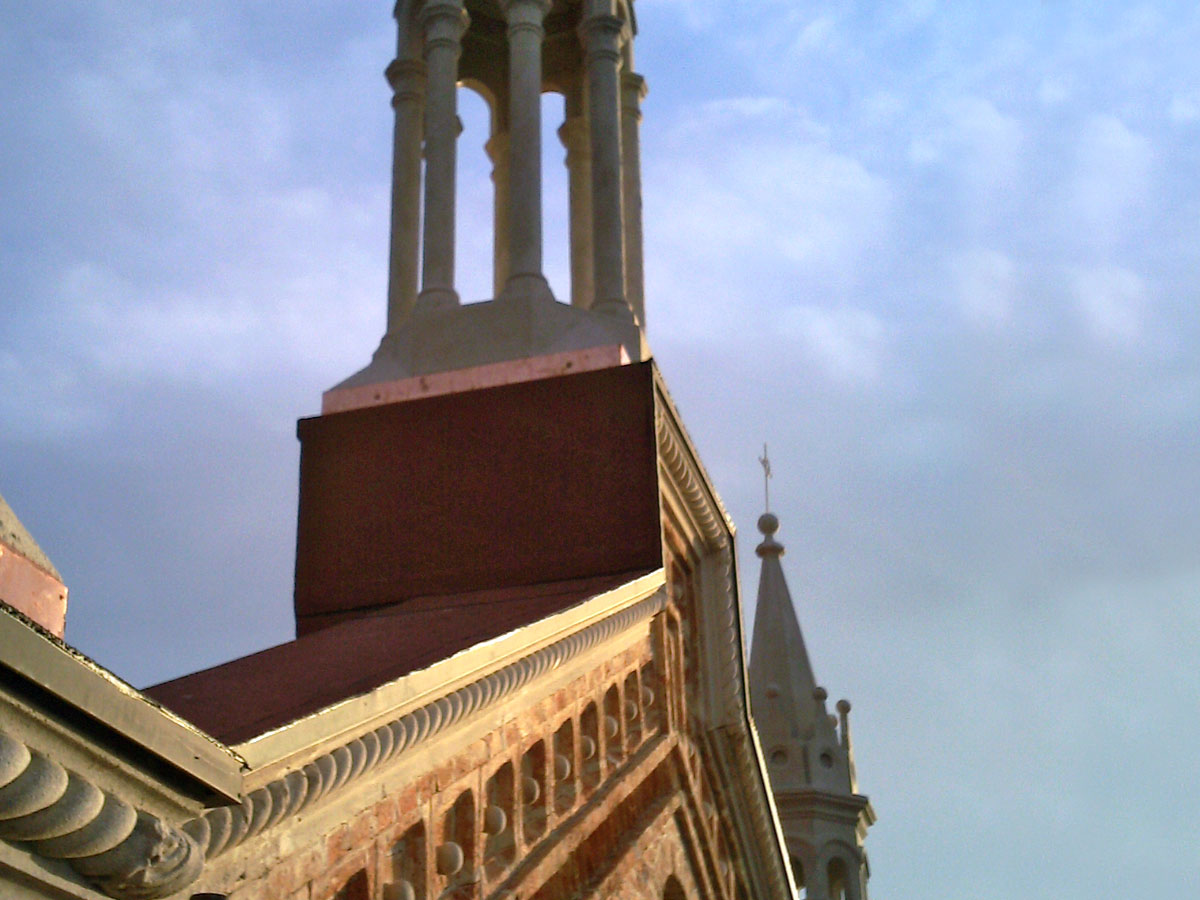 Impermeabilizzazione elementi chiesa
