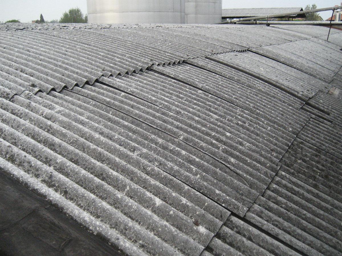 Asfalti 80 sistemi coperture civili sistemi di for Fibrocemento sin amianto