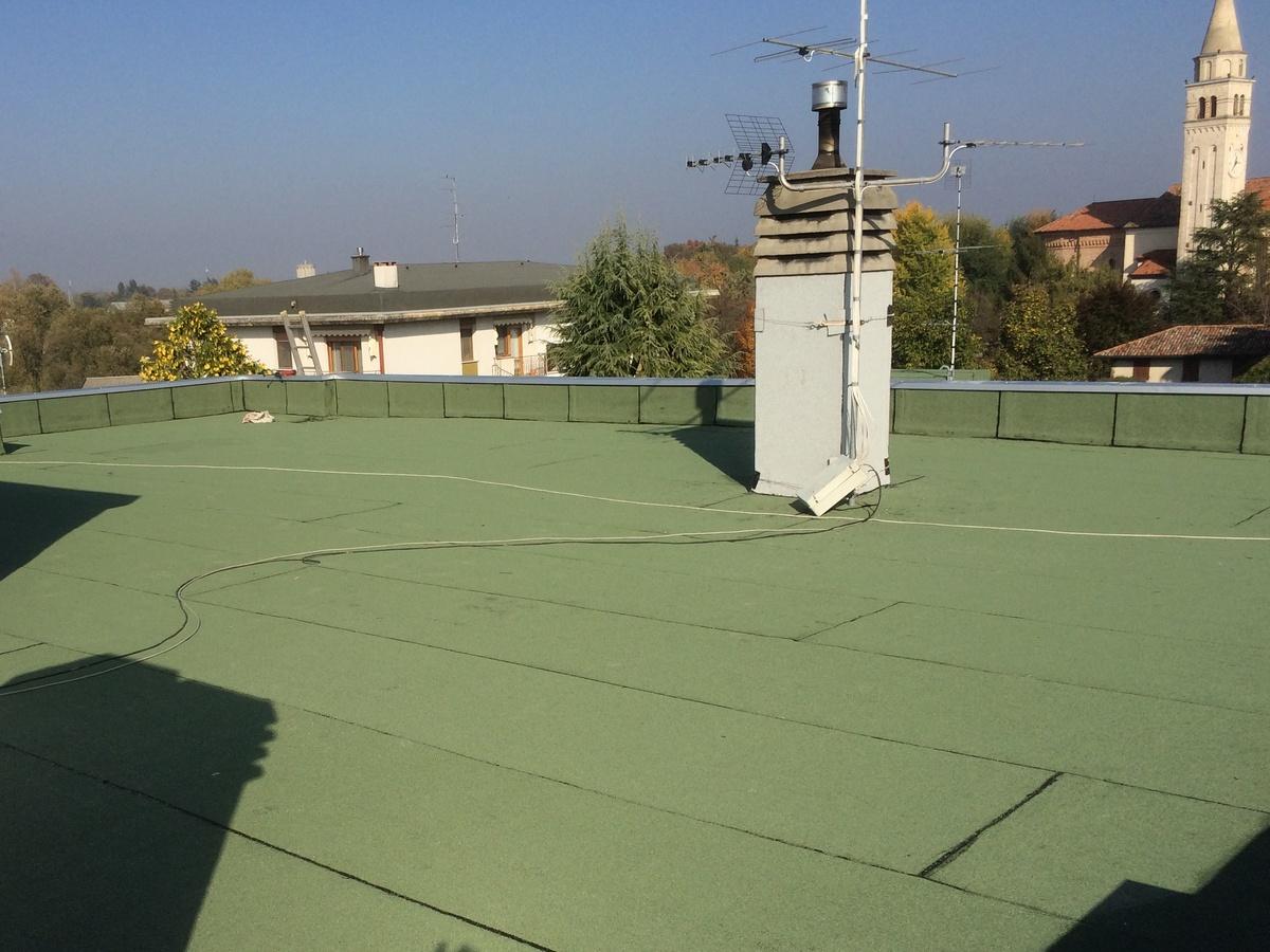 impermeabilizzazione e coibentazione terrazza civile