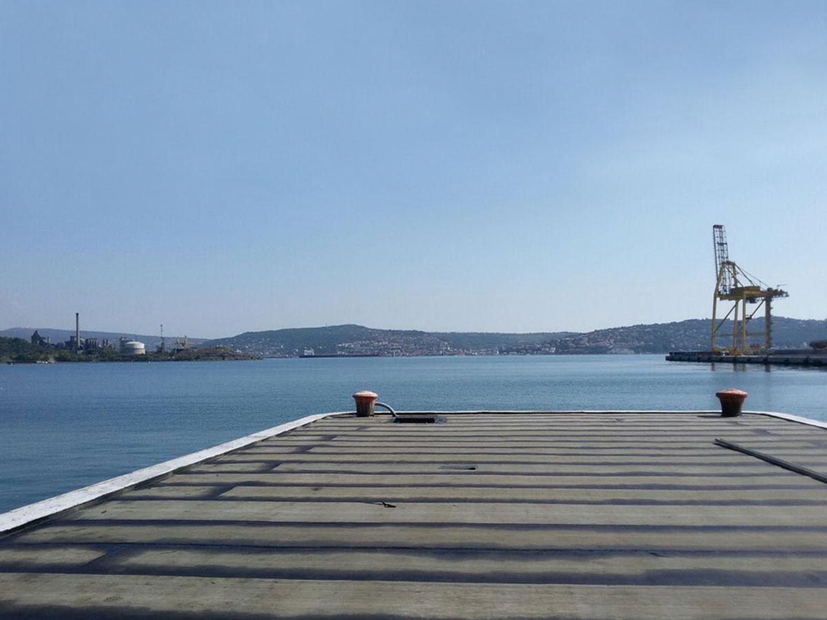 impermeabilizzazioni banchina portuale