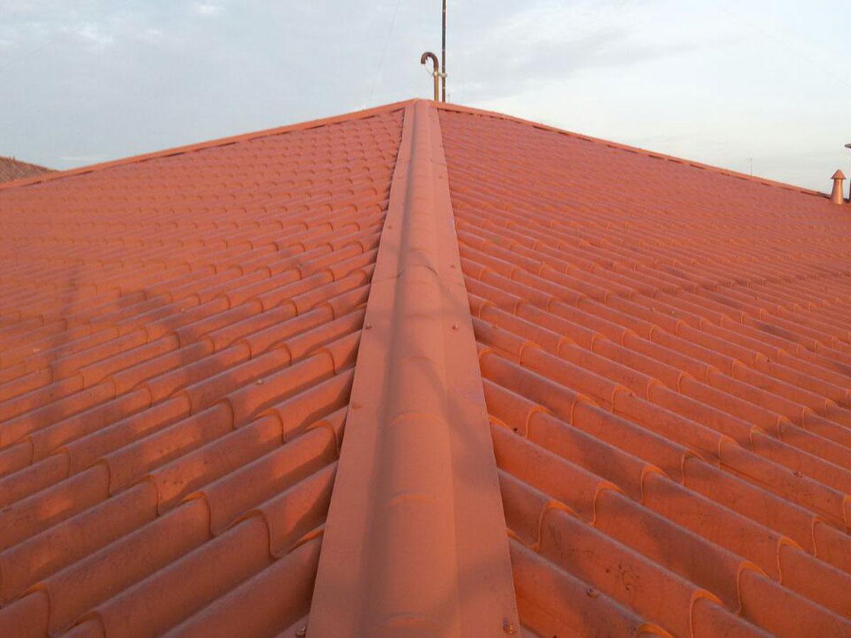 Asfalti 80 coperture edili coperture tetti asfalti for Copertura finto coppo